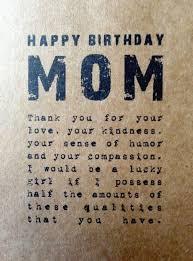 unique happy birthday mom quotes wishes images bayart
