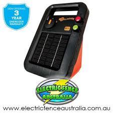 Gallagher S20 2km Solar Energiser Electric Fence Australia