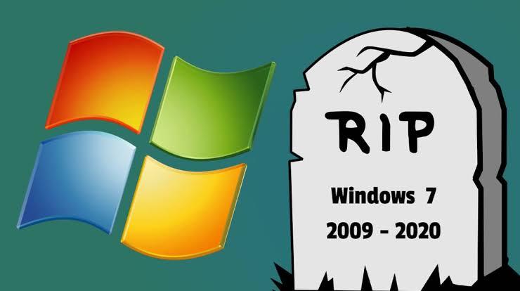 RIP Windows 7, Microsoft Resmi Hentikan Dukungan Windows 7