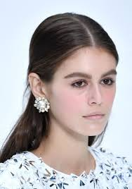 the beauty look for karl lagerfeld s
