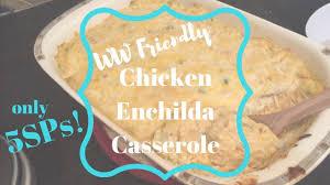 ww friendly en enchilada cerole