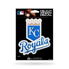 Kansas City Royals Decal 5x5 Die Cut Bling Caseys Distributing
