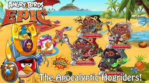 AngryBirdsEpic - The Apocalyptic... - Angry Birds Fans