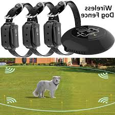 Wireless Electric Dog Fence Pet Containment System Shock
