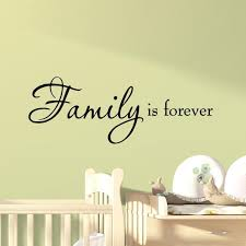 Vwaq Com Family Is Forever Vinyl Wall Quotes Decal