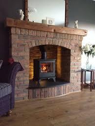 wood burning stoves living room image
