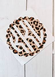Cheetah Monogram Decal Decals For Yeti Cups Monogram Decal Car Decal Lily Inspired Monogram B Car Monogram Decal Decals For Yeti Cups Yeti Cup Monogram