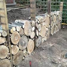 retaining wall diy garden fence