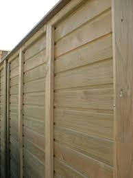 Horizontal Tongue And Groove Fence Panels Jacksons Fencing
