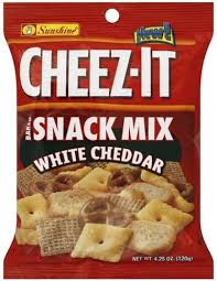 cheez it white cheddar baked snack mix