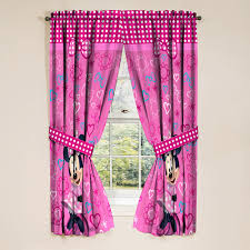 minnie mouse girls bedroom curtains 2