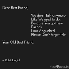dear best friend quotes writings by rohit jangid yourquote