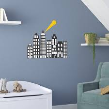 City Scape Wall Decal Wayfair