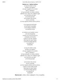 Letra de Señora Señora de Denise Lor - MUSICA