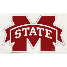 Mississippi State Bulldogs 4 X 5 Team Logo Car Decal