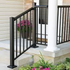 Winchester Mix N Match Ready To Assemble Aluminum Stair Rail Kit Aluminum Railing Freedom Outdoor Living For Lowes