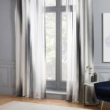 diffused colorblock curtains set of 2