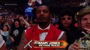 Orioles' Adam Jones is real star of the night at Baltimore's WWE ...