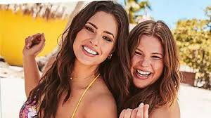Ashley Graham and sister Abigail star in new swimsuit campaign together |  GMA