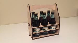laser cut beer crate no glue 6