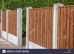 Fencing Panels High Resolution Stock Photography And Images Alamy