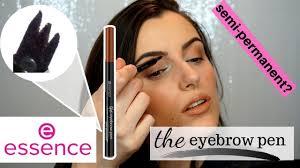 eyebrow pen semi permanent by essence