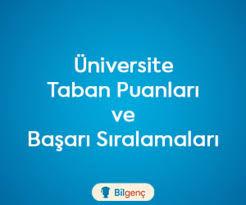 Uşak Üniversitesi 2020 Taban Puanları ve Başarı Sıralamaları
