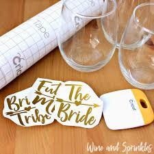 Diy Bride Tribe Wine Glasses Wine Sprinkles