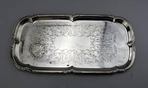 serving tray silverplate u k