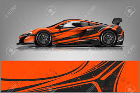 Car Decal Wrap Design Vector Graphic Abstract Stripe Racing Royalty Free Cliparts Vectors And Stock Illustration Image 121556984