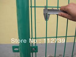 Double Wire Mesh Fence Iron Wire 4mm Connection Fence And Post With Clips And Bolts Pre Buried Post 30cm Post Talk Post Badgefencing Athlete Aliexpress