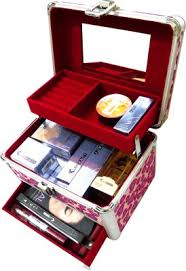 swiss beauty box makeup vanity case
