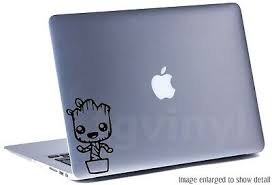 5 Groot Pot Vinyl Decal Sticker Car Window Laptop Dance Marvel Guardians Galaxy