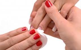 how to remove nail polish without nail