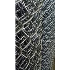 Galvanized Iron 8 14 Gauge Chain Link Fencing Packaging Type Roll Rs 8 Square Feet Id 20557741162