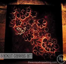 backlit canvas art the s pe