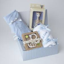 personalized baby gift sets hers