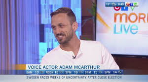 Chat with Voice Actor Adam McArthur | CTV News