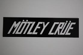 Motley Crue Sticker Decal 294 Metal Rock Music Pantera Metallica Car Window