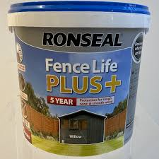 Ronseal Fence Life Plus Willow 5l Decora Adore Your Home