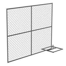 Vestil Chain Link Fencing Fencing The Home Depot