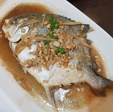 Steamed Pompano... Available at Beko's ...
