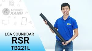 Loa Soundbar RSR TB221L - Âm thanh đỉnh cao giá rẻ