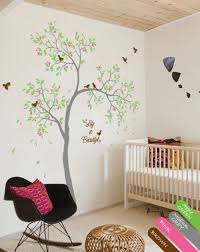 Personalized Nursery Wall Decal Sparrows Sticker Mural Decor Kr066 Studioquee On Artfire