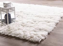 eco friendly wool flokati rug