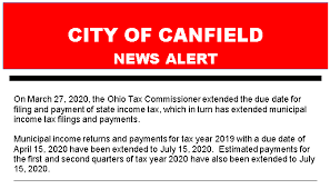 income tax city of canfield