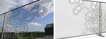 Decorative Wire Mesh Lace Fence Design Designs Ideas On Dornob
