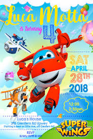Superwings Invitation 397b9761 Dailypathdarshi Com
