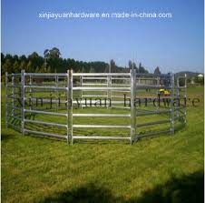 China Galvanized Livestock Farm Fence Gate For Cattle Sheep Or Horse China Farm Fence Animal Barrier