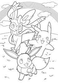 Pikachu And Eevee Friends Coloring Book Kleurplaten Kleurplaten